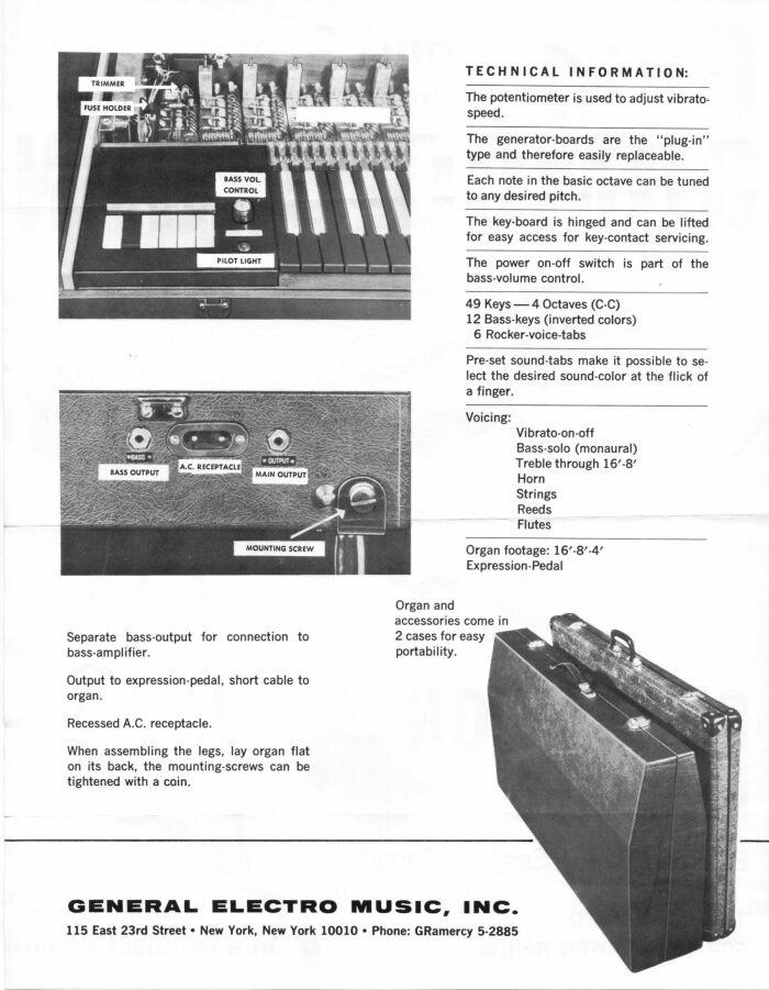 Combo Organ Heaven: GEM